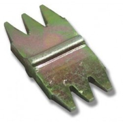 """1/2"""" (13mm) Scutch combs - Stone"""