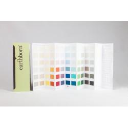 Earthborn Claypaint and Eggshell Colour Card