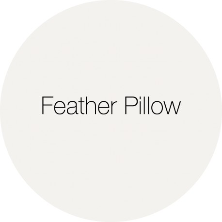 Feather Pillow - Earthborn Clay Paint