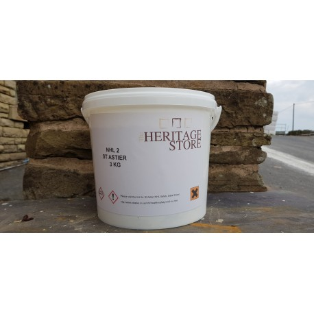 St Astier NHL 2 3kg Tub (Pure Natural Hydraulic Lime)