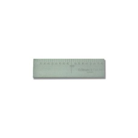 1000 x 50 (203) masons Straight Steel Bench Rule